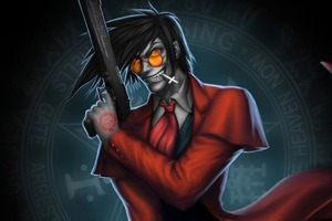 Hellsing Alicard Art Wallpaper