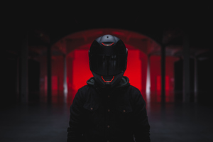 Helmet Guy Wallpaper
