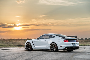 Hennessey Shelby GT350R HPE850 Supercharged Rear Wallpaper