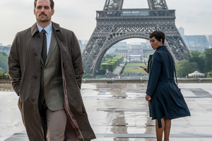 Henry Cavill And Angela Bassett Mission Impossible Fallout 2018