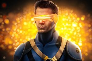 Henry Cavill As Cyclops Wallpaper