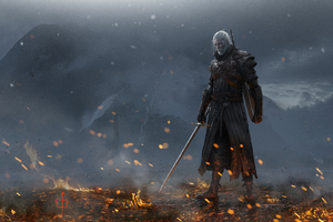 Henry Cavill Geralt Of Rivia Art
