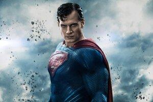 Henry Cavill In Batman Vs Superman Movie