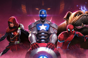 Heroes Marvel Contest Of Champions Wallpaper