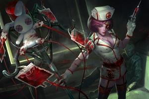 Heroes Of Newerth Nurse Rk Wallpaper