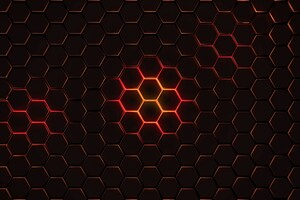 Hexagon Geometry 4k