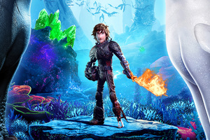 Hiccup How To Train Your Dragon 3 2019 4k
