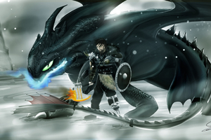 Hiccup How To Train Your Dragon 3 5k Wallpaper