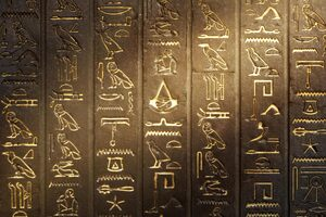 Hieroglyphs Assassins Creed Origins Wallpaper
