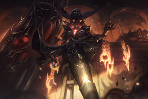 High Noon Senna League Of Legends Wallpaper