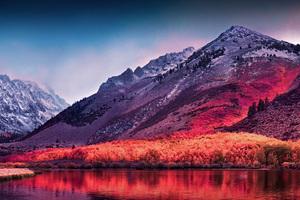 High Sierra 5k Wallpaper