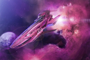 High Speed Cruiser Omegon 4k Wallpaper
