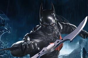 High Tech Batman Suit 5k Wallpaper