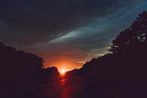 Highway Sunset 5k