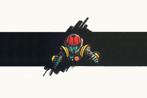 Hikaru Ichijyo Macross Minimal 4k Wallpaper