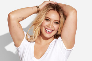 Hilary Duff Redbook 4k