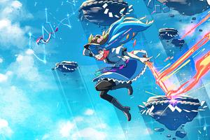 Hinanawi Tenshi Anime 4k Wallpaper