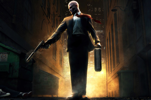 Hitman Blood Money 4k Wallpaper