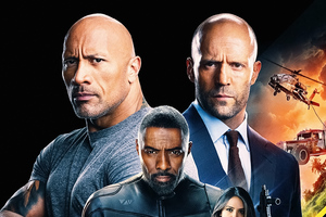 Hobbs And Shaw 2019 4k