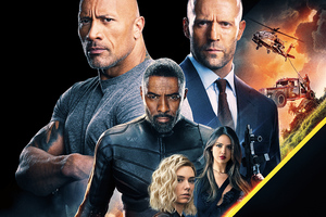 Hobbs And Shaw 8k