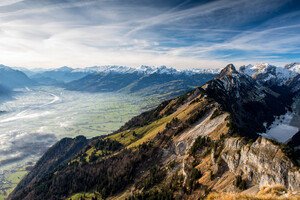 Hoher Kasten Alps Valley 5k Wallpaper