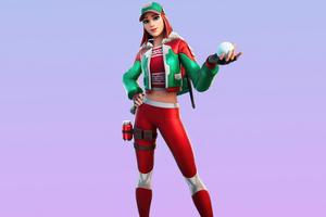 Holly Striker Skin Outfit Fortnite 4k