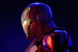 Holographic Iron Man 4k 2020 Wallpaper
