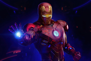 Holographic Iron Man MKIV