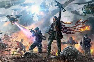 Homefront The Revolution Game Art 5k