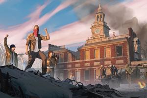 Homefront The Revolution Game Artwork 5k Wallpaper