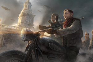 Homefront The Revolution Video Game 4k Wallpaper