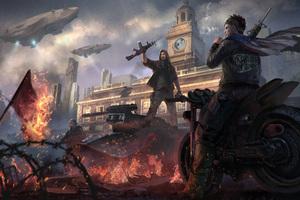 Homefront The Revolution Video Game 5k Wallpaper