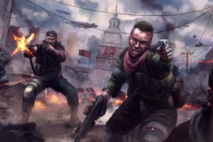 Homefront The Revolution Video Game Artwork 4k