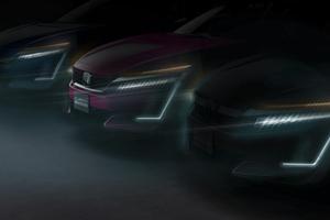 Honda Clarity Series Debut New York International Auto Show