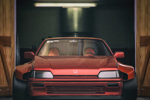 Honda Crx Wide Body Wallpaper