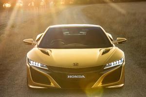 Honda Nsx Gold 2019