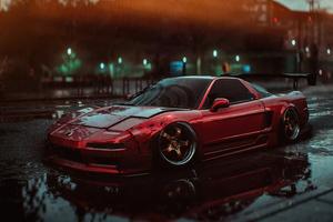 Honda Nsx In Need For Speed 4k