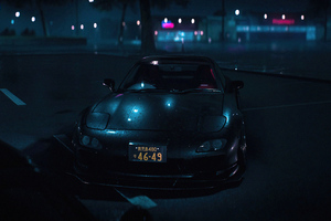Honda Nsx Need For Speed Raining Wallpaper