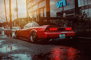 Honda Nsx Rear Need For Speed 2020 4k Wallpaper