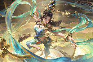 Honor Of Kings Magical Girl Wallpaper