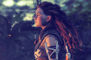 Horizon Zero Dawn 4k Aloy