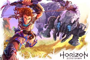 Horizon Zero Dawn 4k Fanart