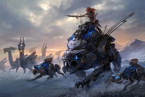 Horizon Zero Dawn Art Wallpaper