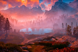 Horizon Zero Dawn Game Nature