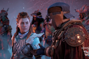 Horizon Zero Dawn The Frozen Wilds 2017