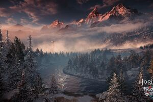 Horizon Zero Dawn The Frozen Wilds 4k