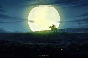 Horse Rider 4k Wallpaper