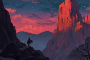 Horse Rider Adventure 4k Wallpaper