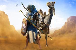 Horus Assassins Creed Origins Wallpaper