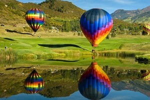 Hot Air Ballons 4 Wallpaper